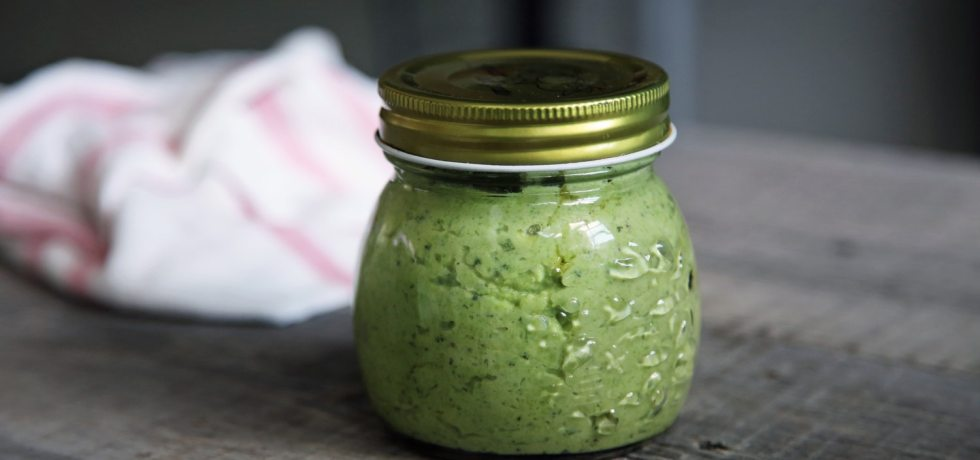 Homemade Pesto Sauce Recipe